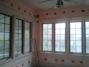 Delaware project cellulose insulation for lath and plaster walls urban patch for Insulating exterior walls in old homes